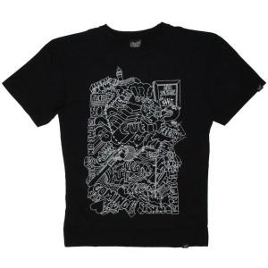 Scratch Science T-shirt - Phrasing - Black