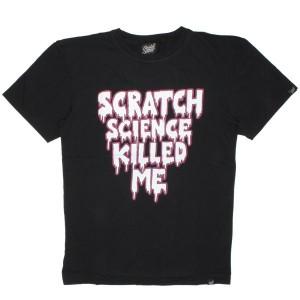 Scratch Science T-shirt - Killed Me - Black