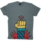 Boxfresh T-shirt - Cadet Grey Lapactic