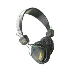 Casque Wesc - Moss Green Checked Bongo