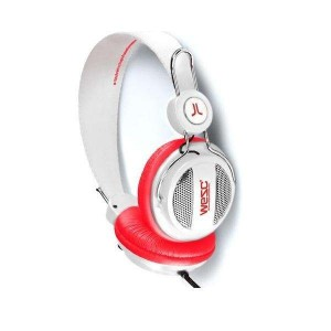Casque Wesc - White/red Oboe Seasonal